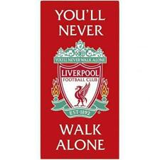 Liverpool FC Official YNWA Towel Great Gift For BIRTHDAYS or CHRISTMAS