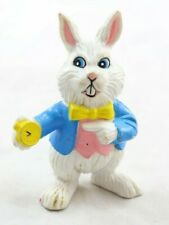 White Rabbit Figure 1988 Vintage HG Toys ALICE IN WONDERLAND Story Book Play Set