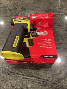 New SNAP ON-™️ TORCH300Y Butane Gas Torch In HI VIZ yellow