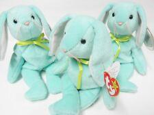 Ty Beanie Baby HIPPITY (4th generation) Green Bunny Rabbit PRISTINE-Mint Tags!