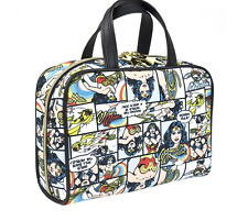 New Tags Limited Edition Wonder Woman Weekender Large Cosmetics Bag Allegro