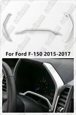 Fit Ford Raptor F150 2015-2018 Interior Dashboard Instrument Meter Cover Trim Re