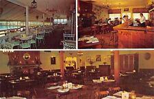 Marmora NJ~Tuckahoe Inn~Porch~Tavern Bartender~Dining Room~1960s PC