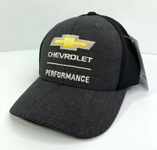 Chevrolet Performance Vehicles Parts Racing Hat / Cap - Black w/ Mesh Backing