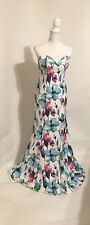 New Glamour By Terani Couture Women's Size 8 Floral Dress Retail Price $239
