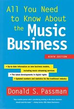 All You Need to Know About the Music Business 9th Edition Book Hardco 000156531