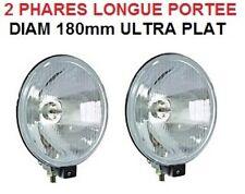PROMO TYPE LIGHTFORCE HELLA! 2 PHARES 18CM HDJ PATROL PAJERO LAND QUAD DMAX L200