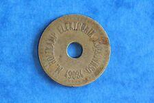 Unknown Token, M Holtkamp Elektonik Osnabruch, Hole Brass 26mm