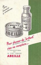 Buvard Vintage  Cire  Encaustique Abeille