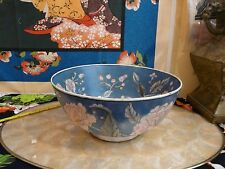 Lovely Big Chinese Semi Porcelain Colorful Console Bowl