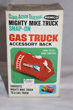 1960's Remco Battery Operated Might Mike Truck Gas Tanker Body  Back, Boxed