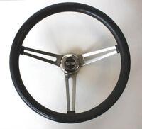 "1964-65 SS Chevelle El Camino GRANT Black Steering Wheel 15"""