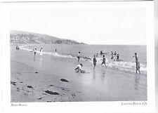"*Postcard-""Children in Summer Water @ Main Beach"" -1915- *Laguna Beach CA.(#188)"