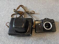 ZENIT EM 35mm Film Camera Body+offical case ONLY Vintage 35 mm film OLYMPIC VER