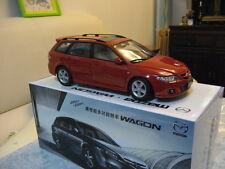 Mazda 6 Atenza MK1 wagon saloon 1/18 model car red free shipping