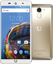 """Wileyfox Swift 2 16gb Champagne Gold 5"""" Dual SIM 4g LTE OS 13 Unlocked"""