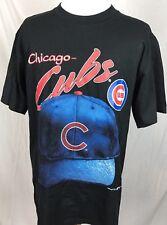 NWT Vintage 1995 Nutmeg Mills Chicago Cubs S/S T-Shirt Men's Large NOS
