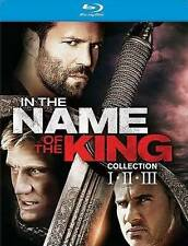 In the Name of the King Collection: I, II, III (Blu-ray Disc, 2014) New Sealed