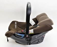 Babyschale Concord Airsafe Gruppe 0+ (0-13kg) braun mit Adapter, Regenschutz