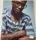 Kid Cudi Signed 8x10 Photo JSA COA Travis Scott Kanye West Autograph Auto