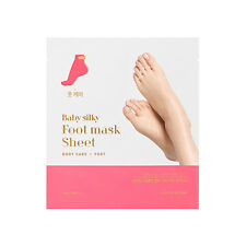 [Holika Holika] Baby Silky Foot Mask Sheet - 2pcs ROSEAU