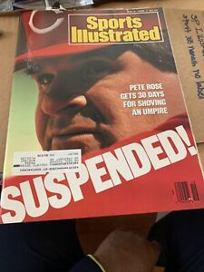 Sports Illustrated May 9, 1988 - Pete Rose