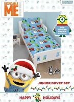 Despicable Me 3 Minions Christmas Holidays Junior Duvet Cover Set - 120cm x 150c