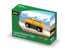 BRIO 33215 Cargo Battery Engine - Railway Battery Function Age 3-5 years