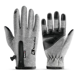 Touchscreen Outdoor Thermal Gloves Warm Windproof for Hiking Driving Running Ski