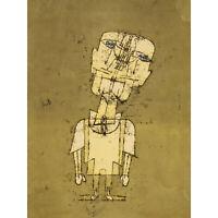 Paul Klee Gespenst Eines Genies Ghost Of A Genius Large Canvas Art Print