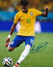 Neymar da Silva Santos / Neymar Jr Signed 8X10 Photo FC Barcelona / Brazil