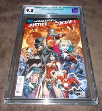 Justice League VS Suicide Squad #1 CGC 9.8 DC Comics
