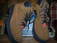 2521cf24027 Brahma Bravo Brown Suede Waterproof Soft Toe Work Boots Size 13XWide ...