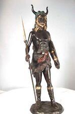 """Neptune""  ""Poseidon"" Viking God ""Odin"" Bronze sculpture"