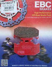 EBC/FA152/2TT Brake Pads (Rear) - Yamaha XT225 Serow (Disc Brake)(Grey Import)