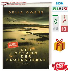 Der Gesang der Flusskrebse by Delia Owens 2020 / Lese die Beschreibung