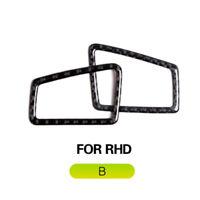 Carbon Fiber Dashboard Air Vent Outer Trim für BMW 3 Series E90 E92 E93 RHD 9SB3