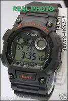 W-735H-8A Casio Sport Digital Watch 10-Year Battery Alarm 100m Chronograph