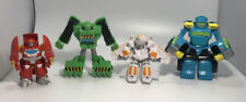 Transformers Rescue Bots Lot Playskool Lot Of 4 Figures