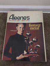 VINTAGE METALCRAFT 1970 Aleene's FANTASY METAL SCULPTURE CRAFT KIT IN BOX
