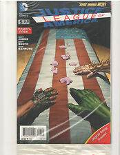 JUSTICE LEAGUE OF AMERICA #5 COMBO PACK NEW 52 (August 2013, DC Comics)