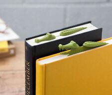 PELEG DESIGN Crocomark Lesezeichen NEU/OVP Krokodil Buchzeichen f. Buch Bücher