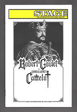 """Robert Goulet """"CAMELOT"""" Patricia Kies / Lerner & Loewe 1992 Tryout Playbill"""