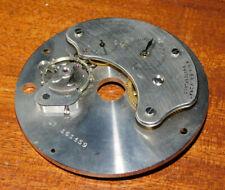 vintage MECANISME HORLOGE saia S.A.morat switzerland 15 JEWELS SUISSE clock old