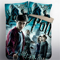 US/EU/AU Size Harry Potter 3pcs Duvet Cover Bedding Set Full Twin King Queen Sin