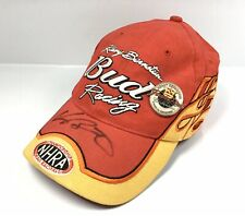 Kenny Bernstein NHRA Bud Forever Red - A Race to Remember Autographed CAP & PIN