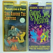 Sharon, Lois & Bram 4 titles cassette PACK  4 cassette lot