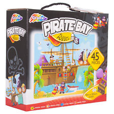 Children's Pirate Bay Floor Puzzle 45 Piece Kid's Boys Jigsaw Game Gift Toy