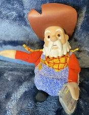 RARE Stinky Pete the Prospector - Toy Story 2 - Bean Bag Plush - NEW!With Tags!