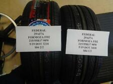 2 NEW FEDERAL FORMOZA FD2 215 55 17 98W TIRES W FACTORY LABEL 29AI7A Q9